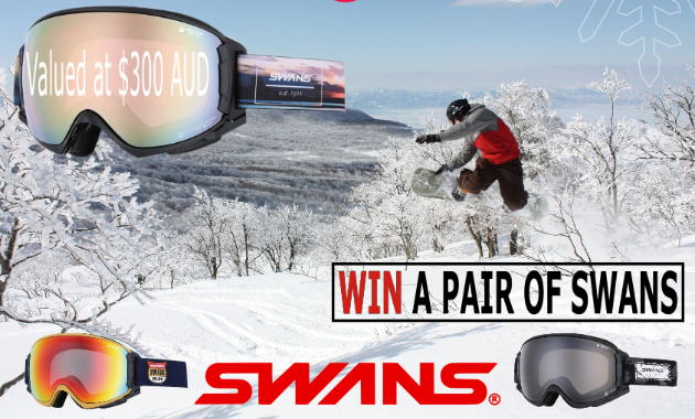 Powder Recon are giving away two free pairs of SWANS goggles